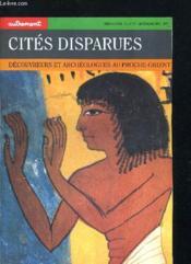 Revue Monde N.55 ; Les Cités Disparues - Couverture - Format classique