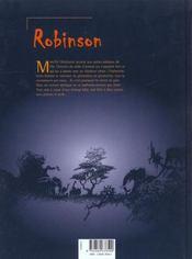 Robinson t.1 - 4ème de couverture - Format classique