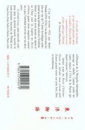 Recits d'extreme orient - 4ème de couverture - Format classique