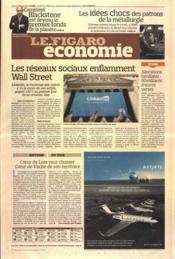 Figaro Economie (Le) N°20776 du 20/05/2011 - Couverture - Format classique