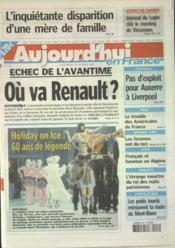Aujourd'Hui En France N°532 du 28/02/2003 - Couverture - Format classique