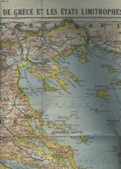Carte N° 31 : Le Royaume De Grece Et Les Etats Limitrophes. - Couverture - Format classique