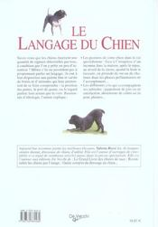 Langage Du Chien Guide Photo (Le) - 4ème de couverture - Format classique