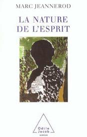 La Nature De L'Esprit - Intérieur - Format classique