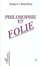 Philosophie Et Folie - Intérieur - Format classique