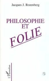 Philosophie Et Folie - Couverture - Format classique