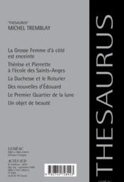 Chroniques Du Plateau-Mont-Royal - 4ème de couverture - Format classique