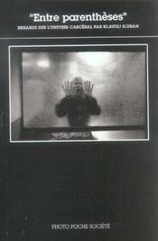 Entre Parentheses Photo Poche Societe N 12 - Intérieur - Format classique