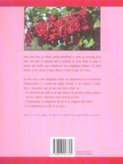 Des Fruits Dans Votre Jardin - 4ème de couverture - Format classique