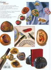 Galets Peints - Fonction Et Decoration - 4ème de couverture - Format classique