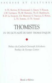 Thomistes - Intérieur - Format classique