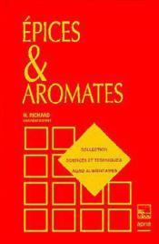 Epices Et Aromates (Collection Staa) - Couverture - Format classique
