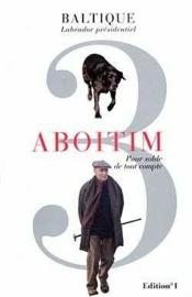 Aboitim - t.iii - Couverture - Format classique
