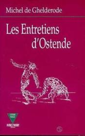 Les Entretiens D'Ostende - Couverture - Format classique