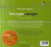 Les cygnes sauvages - 4ème de couverture - Format classique
