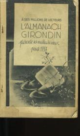 L'Almanach Girondin. - Couverture - Format classique