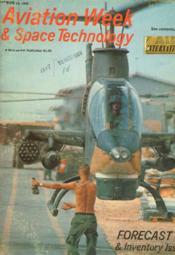 Aviation Week & Space Technology - Couverture - Format classique