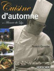 La Cuisine D'Automne - Intérieur - Format classique