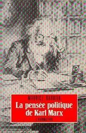 La Pensee Politique De Karl Marx - Intérieur - Format classique