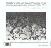 Solitude d'argile ; légende autour d'une vie - 4ème de couverture - Format classique