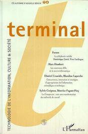 Terminal N°74 - Couverture - Format classique