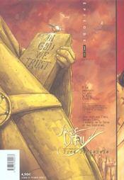 James Dieu T.1 - 4ème de couverture - Format classique