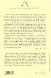 Regle Du Carmel - 4ème de couverture - Format classique