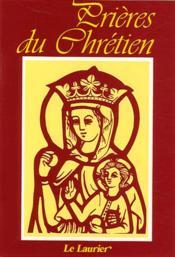 Prieres Du Chretien - Couverture - Format classique