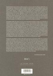 Route des hommes - 4ème de couverture - Format classique