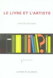 Le livre et l'artiste - Intérieur - Format classique