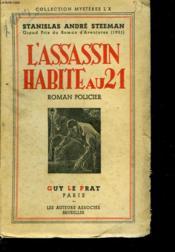 L'Assassin Habite Au 21. Roman Policier. - Couverture - Format classique