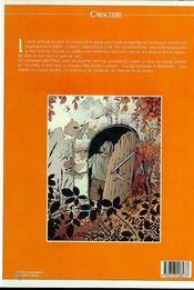 Grimion gant de cuir 2 le corbeau blanc - 4ème de couverture - Format classique