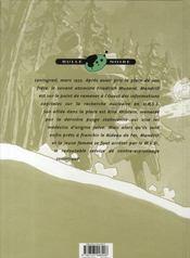 Mandrill t.7 ; la nasse - 4ème de couverture - Format classique