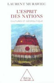 L'Esprit Des Nations - Intérieur - Format classique