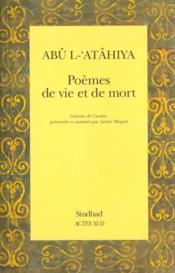 Poèmes de vie et de mort - Couverture - Format classique