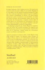 Poèmes de vie et de mort - 4ème de couverture - Format classique