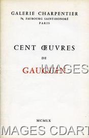 CENT OEUVRES DE GAUGUIN. (Poids de 182 grammes)