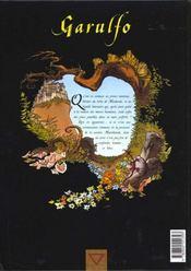 Garulfo t.3 ; le prince aux deux visages - 4ème de couverture - Format classique