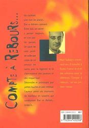 Compte A Rebours - 4ème de couverture - Format classique