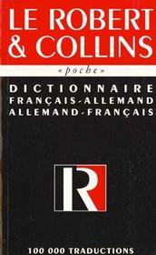 Dictionnaire Poche Bilingue Allemand - Intérieur - Format classique