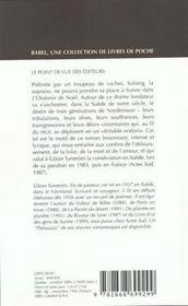 L'Oratorio De Noel Babel 56 - 4ème de couverture - Format classique