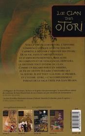 Le clan des Otori t.5 ; le fil du destin - 4ème de couverture - Format classique
