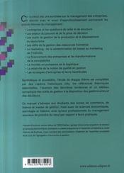 Management des entreprises ; histoire, théorie et outils de gestions - 4ème de couverture - Format classique