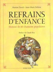 Refrains D'Enfance - Intérieur - Format classique