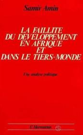 Faillite Du Developpement En Afrique ... - Couverture - Format classique