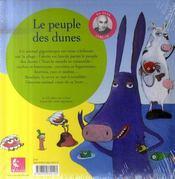 Le peuple des dunes - 4ème de couverture - Format classique