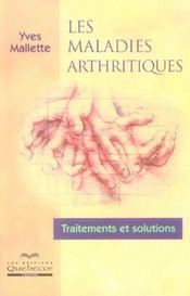 Les maladies arthritiques - Intérieur - Format classique