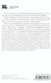 Petrarque - 4ème de couverture - Format classique