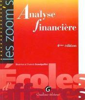 Zoom'S Analyse Financiere - Intérieur - Format classique