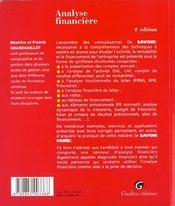 Zoom'S Analyse Financiere - 4ème de couverture - Format classique